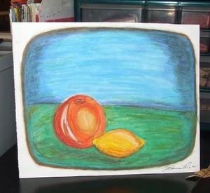 Orange_and_lemon_oil_pastel_drawing